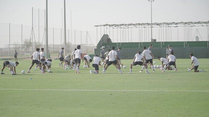 Jelang Beruji Coba Lawan Afghanistan, Coach Shin Tae-yong Matangkan Taktik Pemain Timnas Indonesia