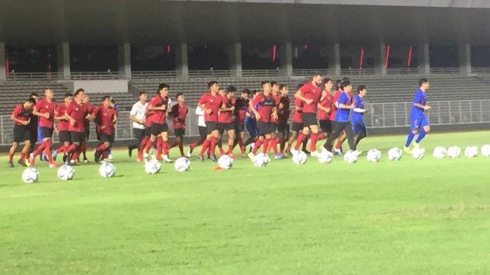 Pemusatan Latihan Perdana Timnas Indonesia Belum Dihadiri Seluruh Pemain