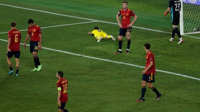 Spanyol vs Swedia 0-0, Matador Kurang Beruntung dan Gagal Gusur Slowakia di Puncak Klasemen Grup E