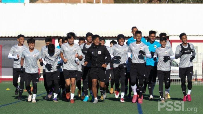 Tim Pelatih Jaga Pola Makan Seluruh Pemain Timnas U-19 Selama TC di Spanyol
