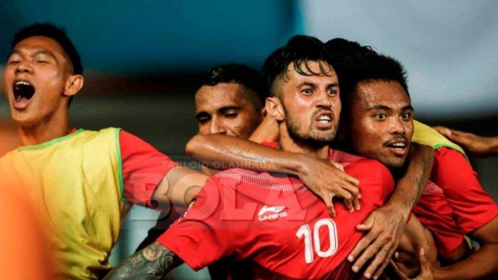Live Streaming Siaran Langsung Timnas U-23 Indonesia Vs Timnas U23 UEA Asian Games 2018