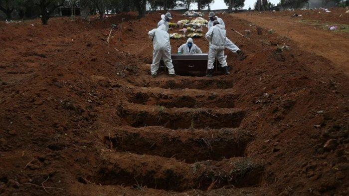 Jumlah Kematian Akibat Covid-19 di Brasil Tembus 500.000, Tertinggi Kedua di Dunia