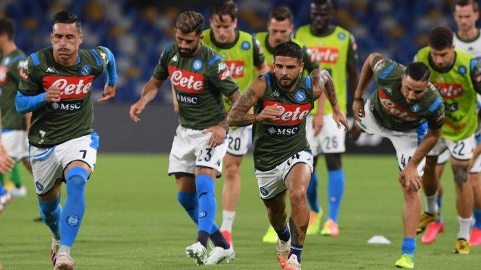 Sedang Berlangsung Napoli vs Sassuolo 1-0 Via Live Streaming RCTI, Gol Cepat Pemain Albania