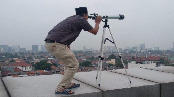 Berada Di Bawah Ufuk, Posisi Hilal Tak Terlihat di Jakarta