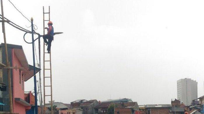 Ratusan Konektor Lampu PJU di Bekasi Raib Dicuri
