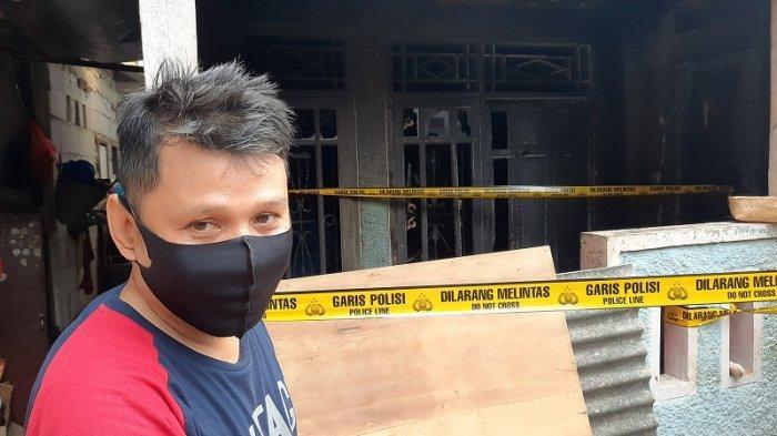 Rumah Di Ciputat Timur Hangus Terbakar, Saksi Mata Duga Ada Seorang Sengaja Membakar