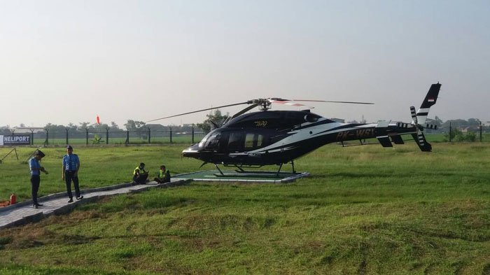 Tahun Depan dari Bandara Soekarno-Hatta Bisa Naik Helikopter ke Jabodetabek dan Bandung