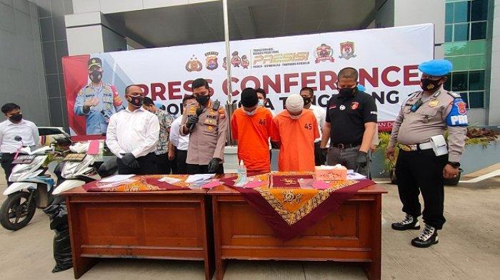 Kapolresta Tangerang, Kombes Pol Wahyu Sri Bintoro memberikan keterangan terkait kasus pembunuhan dukun pengganda uang di Malpores Kota Tangerang, Senin (13/9/2021)