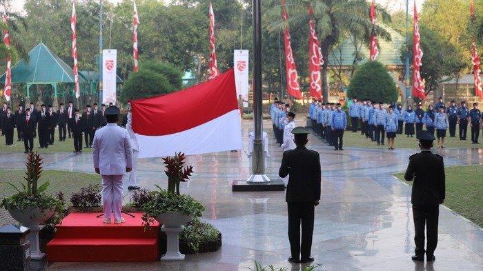 Pemerintah Kota Jakarta Utara Gelar Upacara HUT ke-75 RI dengan Protokol Kesehatan