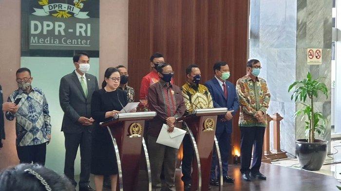 Serahkan Surat Presiden Soal Pembahasan RUU BPIP ke DPR, Mahfud MD Klaim Beda dari RUU HIP