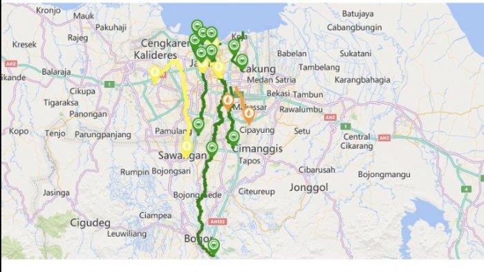 UPDATE Tinggi Muka Air Pukul 16.00 WIB Kali Baru Timur dan Kali Sunter Siaga II, Waspada Banjir