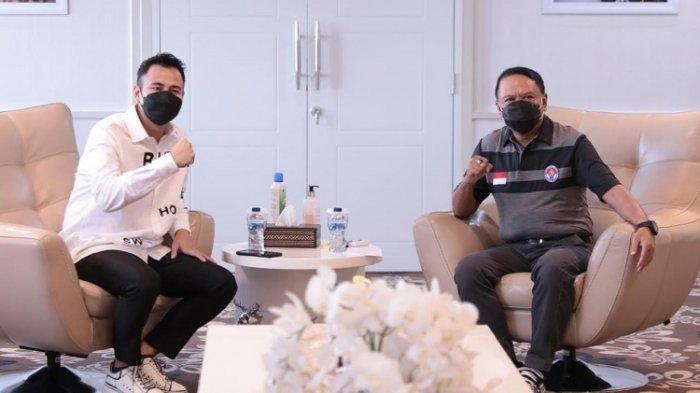Selain Sowan, Raffi Ahmad Diskusi Soal Ini Dengan Menpora Amali