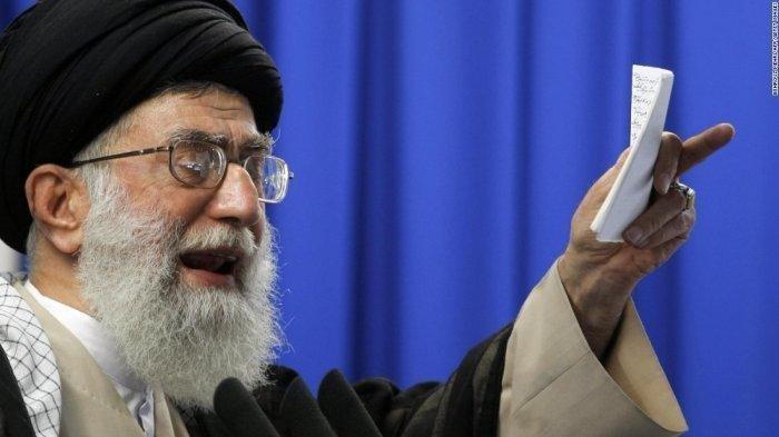 Peringatan Iran untuk AS, Ayatollah Ali Khamenei: Jika Kalian Memukul, Kalian Akan Dipukul Balik