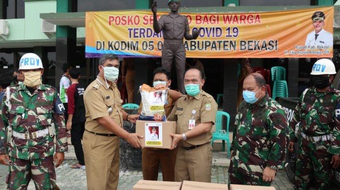 Pemkab Bekasi Mulai Bagikan 152.000 Paket Bantuan Sosial untuk Warga Terdampak Covid-19