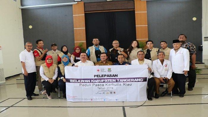Kabupaten Tangerang Kirim Relawan Kemanusiaan  ke Riau