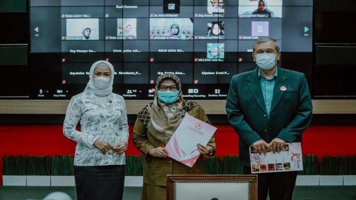 Pemkot Bogor bersama Yayasan Kanker Indonesia (YKI) Kota Bogor menggelar acara peningkatan pemahaman paliatif dan pembekalan fasilitas kesehatan