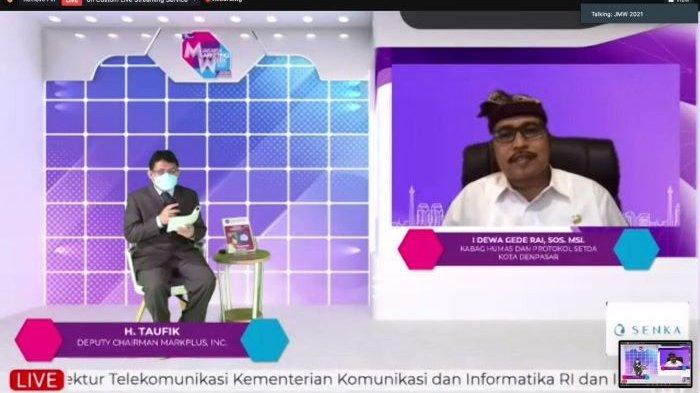 Maksimalkan Teknologi Digital, Pemkot Denpasar Raih Anugerah Humas Entrepreneurial Award 2021