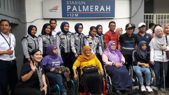 Pemkot Jakarta Pusat Gandeng Kaum Disabilitas Wujudkan Trotoar Ramah Disabilitas