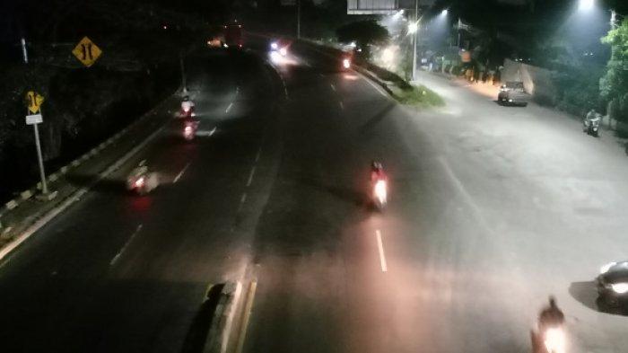 Sebabkan Rawan Kecelakaan, Pengendara Keluhkan Lampu Penerangan Jalan di Tangerang Dimatikan