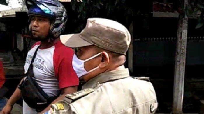 Menolak Disanksi karena Tidak Pakai Masker, Pemotor di Cibubur Sesumbar Tak Takut Covid-19