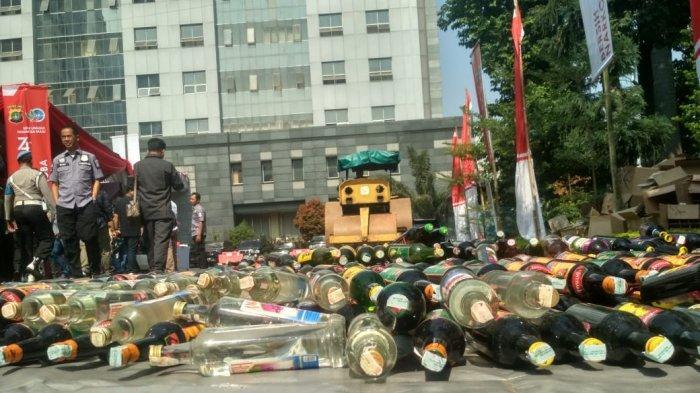 Polda Metro Jaya Musnahkan 71, 8 kg Sabu dan 15.326 Butir Ekstasi