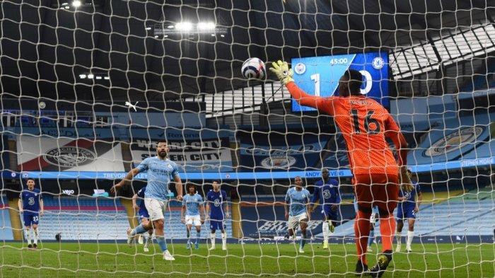 Hasil Manchester City vs Chelsea 1-2, Gol Alonso di Ujung Laga Bikin City Tunda Pesta Juara