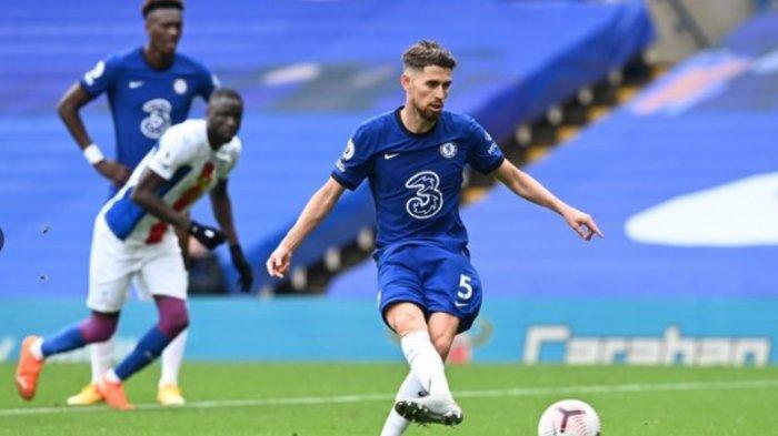 Link Live West Ham United vs Chelsea: Gelandang Chelsea Jorginho Yakin Timnya Lolos Liga Champions