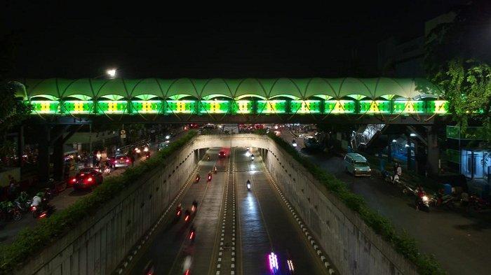 WOW, Penampilan JPO Pasar Minggu Sangat Instagramable Mirip JPO Sudirman