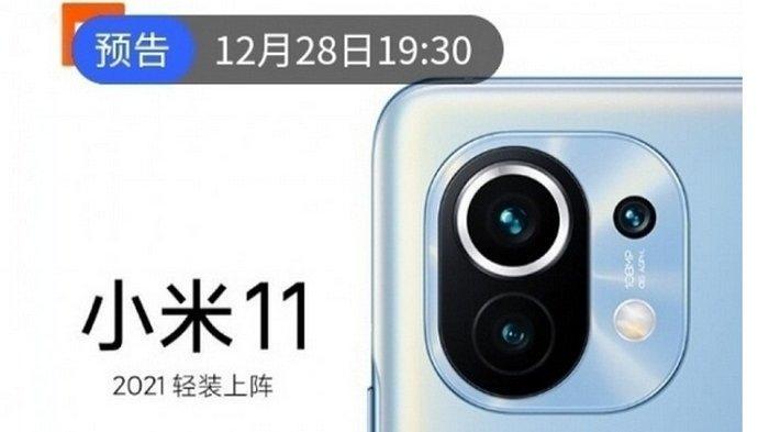 Bocoran, Ini Wujud dan Spesifikasi Xiaomi Mi 11 Triple Camera RAM 8-12 GB, Meluncur 28 Desember 2020