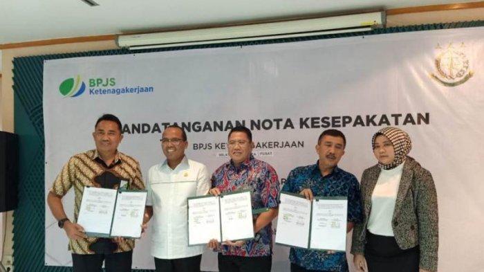 Bpjs Ketenagakerjaan Dan Kejari Jakarta Pusat Kerja Sama Tangani Perusahaan Tak Patuh Warta Kota