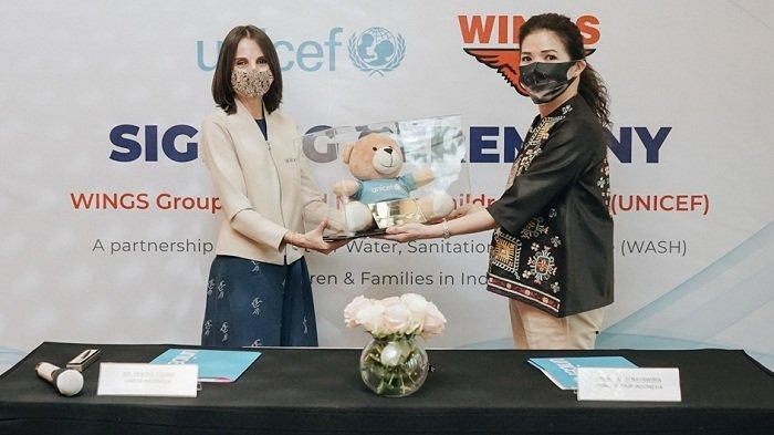 Gandeng UNICEF, Wings Group Indonesia Donasi Rp 6 Miliar untuk Program Akses Air dan Sanitasi Bersih