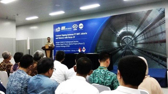 Dikerjakan Mulai Awal Maret 2020, Pembangunan MRT Fase 2 Kelar Setelah Jokowi Tak Lagi Jadi Presiden