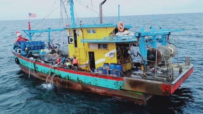 Kronologi Kapal Patroli Indonesia Diteror Speedboat dan Helikopter Malaysia Saat Ciduk Pencuri Ikan