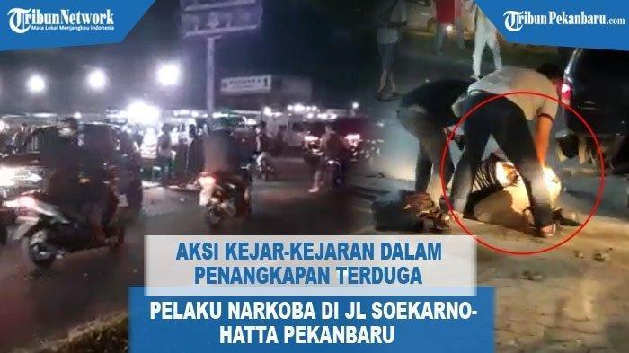 VIDEO Menegangkan, Penangkapan Oknum Perwira Polisi Pengedar Sabu, Petugas Lepaskan Tembakan