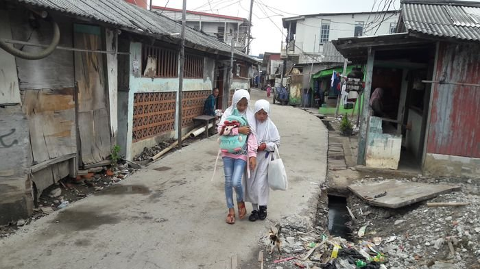 Pengembang Pulau G Bantu Menata Pemukiman Kumuh di Muara Angke