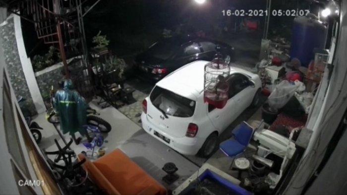 Pencurian Motor Trail Seharga Puluhan Juta di Bekasi Terekam CCTV, Pelaku 2 Orang Beraksi Subuh