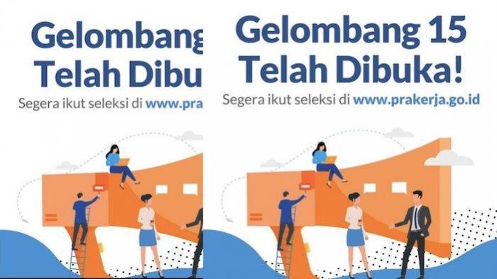 KABAR Gembira Pendaftaran Kartu Prakerja Gelombang 15 Dibuka, Langsung Masuk ke Website Ya