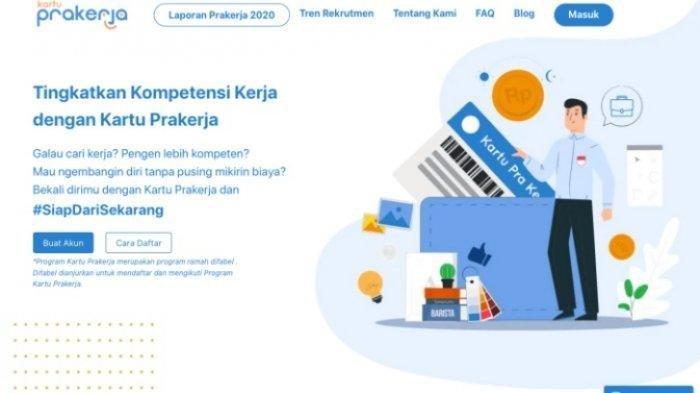 Simak Cara Pendaftaran Kartu Prakerja Gelombang 17, Syarat dan Dokumen yang Diperlukan