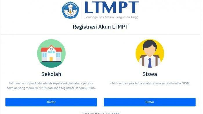 Pendaftar SNMPTN 2021 Kecewa Tak Bisa Daftar, Muncul 'Anda Tidak Berhak Mengikuti SNMPTN 2021'.