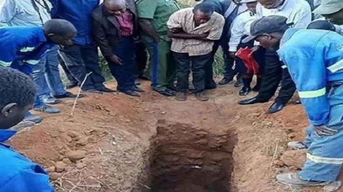 TRAGIS, Pendeta Tewas Setelah Dikubur Hidup-hidup, Ingin Menyamai Yesus yang Bangkit di Hari Ketiga