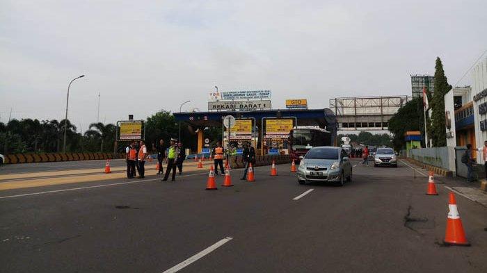 Jumlah Kendaraan yang Dihalau di Gerbang Tol Saat Ganjil Genap Menurun