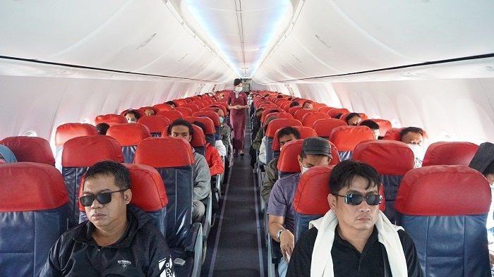 Lion Air Group Terapkan Physical Distancing dalam Penerbangan, Dimulai Saat Check-in