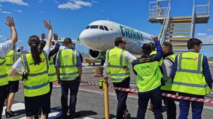 Penerbangan Perdana Denpasar-Melbourne (Avalon), Citilink Indonesia Raih SLF 95 Persen