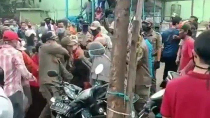 Viral di Medsos, Kasatpol PP Jakarta Selatan Tegaskan Penertiban PKL Pondok Labu Tidak Ricuh