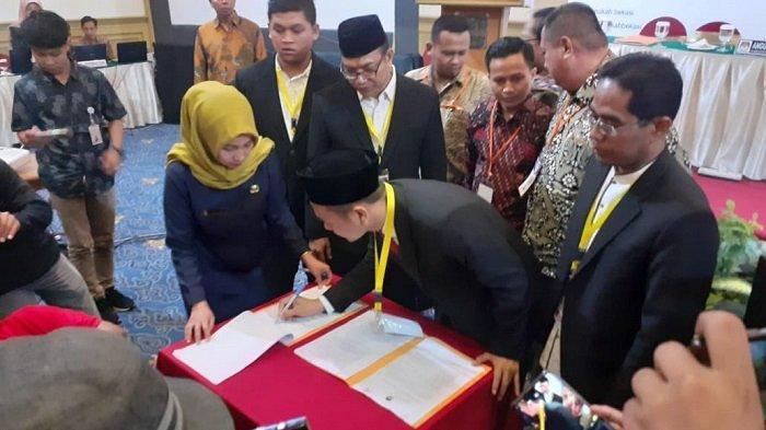 Setelah Tertunda Lama, Akhirnya KPU Kabupaten Bekasi Tetapkan 50 Anggota DPRD Periode 2019-2024