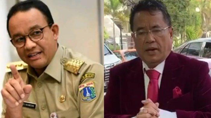 HOTMAN Paris Hutapea Puji Gubernur DKI Anies Baswedan,Disarankan Berani Masuk Daerah Lawan Politik
