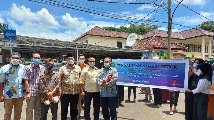 Demi Mewujudkan Zona Bebas Korupsi, Pengadilan Negeri Depok Menggelar Public Campaign