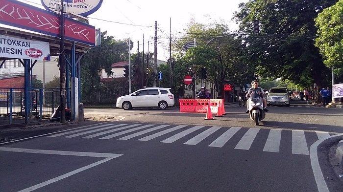 Rekayasa Lalu Lintas di Perempatan Jalan Sumur Bor Membuat 4 Titik di Jakarta Barat Lancar