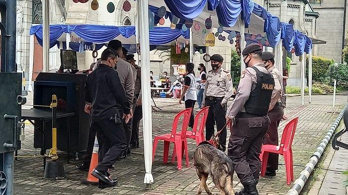 Protokol Kesehatan dan Pengamanan Ketat saat Perayaan Paskah di Gereja Katedral Jakarta