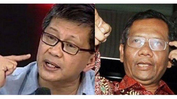 Kapolda Dicopot, Rocky Gerung Salahkan Mahfud MD, Sebut Istana Dungu Tidak Bisa Baca Politik Publik